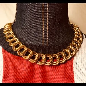 Jewelry - 🔆 SALE!!! Vintage golden women's choker necklace